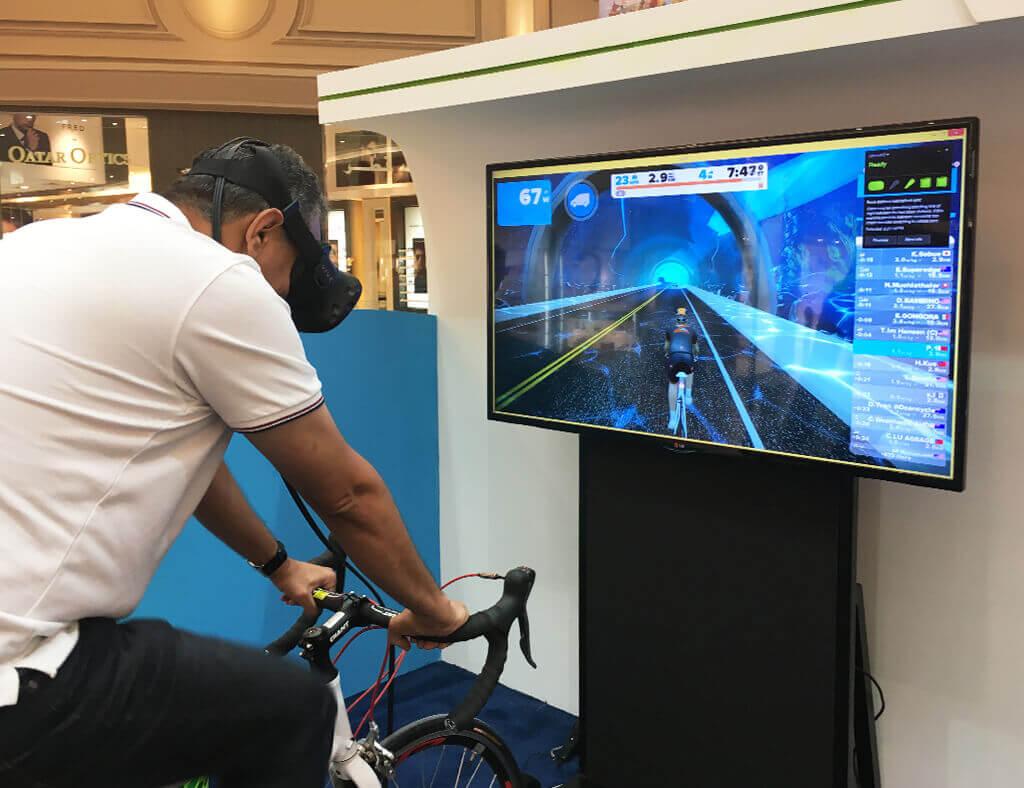VR Bike Simulator